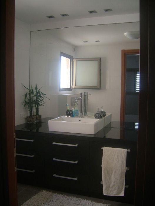 חדר רחצה, פנטהאוז, חולון - לירון מורן- אדריכלות פנים