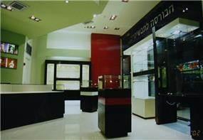 חנות תכשיטים - ברזינגר אדריכלים
