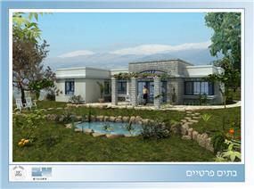 בית פרטי, כפר סאלד - אושרת בראון - אדריכלית