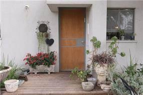 כניסה, בית פרטי, עדנים - רונית תירוש-אדריכלות ועיצוב פנים
