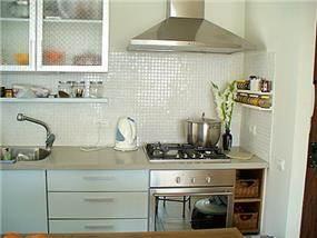 מטבח, דירה, בבלי - רונית תירוש-אדריכלות ועיצוב פנים
