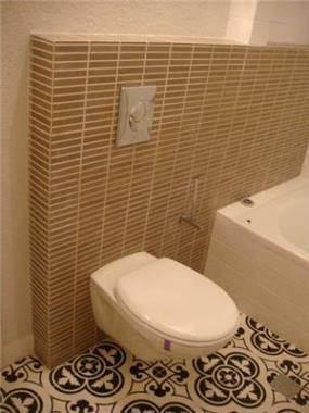 חדר אמבטיה, דירה, תל אביב - רונית תירוש-אדריכלות ועיצוב פנים