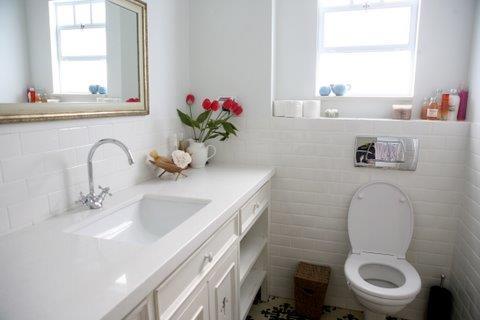 חדר אמבטיה, בית פרטי, ניצני עוז - רונית תירוש-אדריכלות ועיצוב פנים