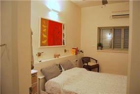 """חדר שינה, דירה, ת""""א - רונית תירוש-אדריכלות ועיצוב פנים"""