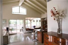 חדר מגורים, בית פרטי, רמת השרון - רונית תירוש-אדריכלות ועיצוב פנים