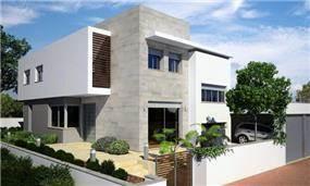 בית פרטי, גדרה - אהרון טיטינגר אדריכלים