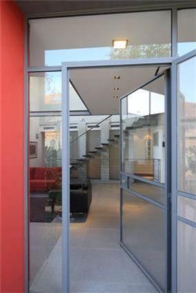 כניסה, בית פרטי, מסילת ציון - אהרון טיטינגר אדריכלים
