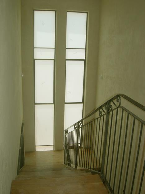 חדר מדרגות, בית פרטי, כפר דניאל - Space Design