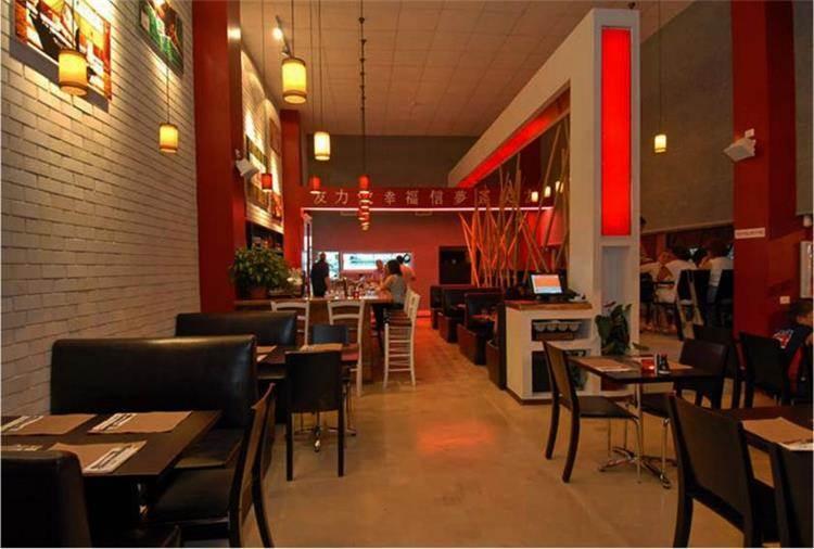 מסעדה יפנית - עיצובים בחן