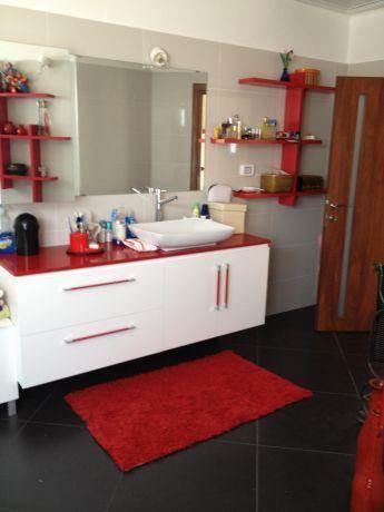 חדר אמבטיה מעוצב, קרן אור עיצוב ואדריכלות פנים