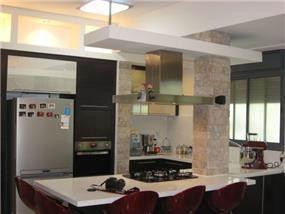 מטבח בעיצוב קרן אור אדריכלות ועיצוב פנים