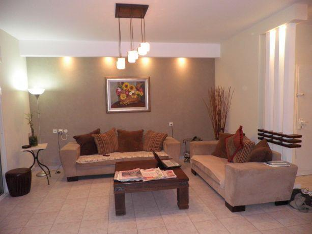 חלל מגורים בדירה, קרן אור אדריכלות ועיצוב פנים