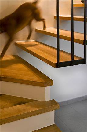 מדרגות תלויות - דביר-רותם דיזיין