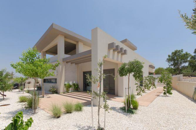 חזית בית מעוצב, פרימה ברק אדריכלים ומעצבים