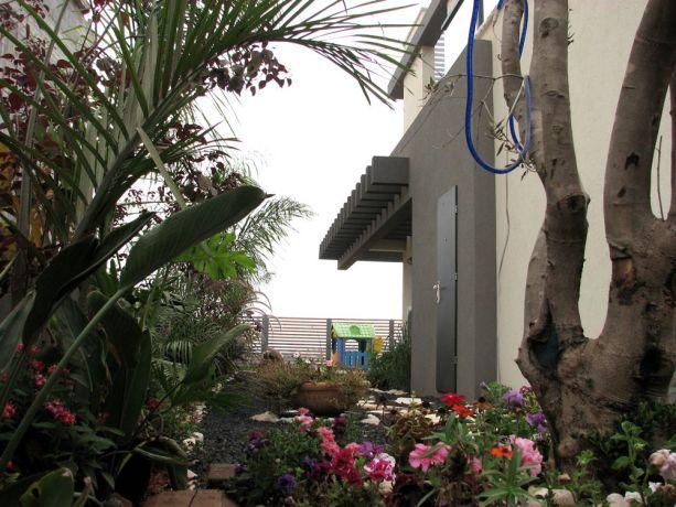 גינה מעוצבת בבית פרטי- אדר' פרימה ברק