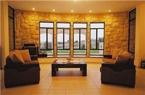 חדר מגורים - יעלה דגנית איבגי- אדריכלות, עיצוב ופנג שוואי