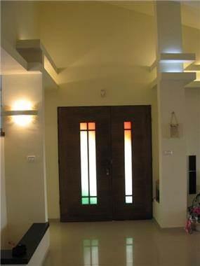 דלת כניסה - איילת אפרים -אדריכלות ועיצוב פנים