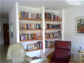 ספריית גבס - לילך שחף - אדריכלות ועיצוב פנים