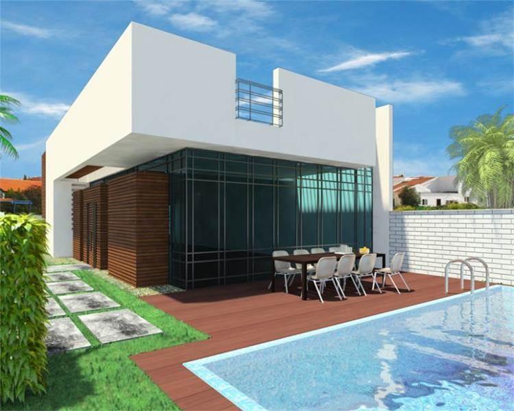 בית פרטי בתל אביב, חזית אחורית