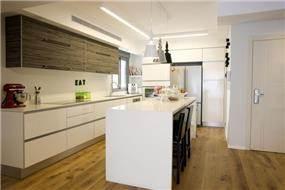 עיצוב מטבח בבית פרטי בעיצוב שרון דוד