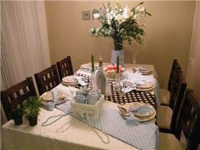 עיצוב שולחן חג - נעמה רשתי הום סטיילינג