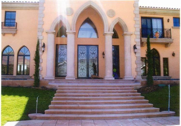חזית בית בסגנון מרוקאי - PRE-CAST & DESIGN