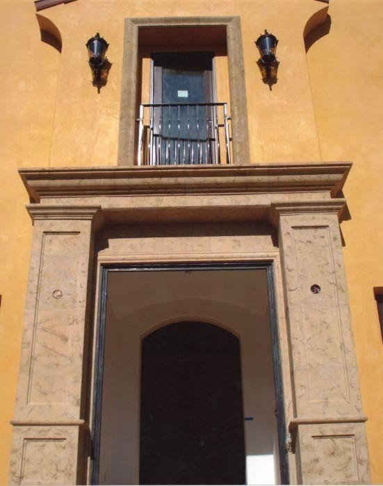 כניסת בית בעיצוב מקסיקני - PRE-CAST & DESIGN