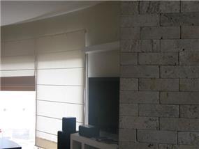 קיר בריקים בתוך הבית
