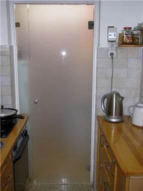 דלת לחדר כביסה - לאורה דוד