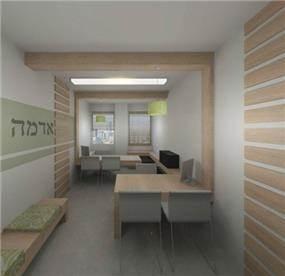 משרד תיווך רעננה בעיצוב מרשים ויוקרתי של שלומית ומעין - עיצוב פנים