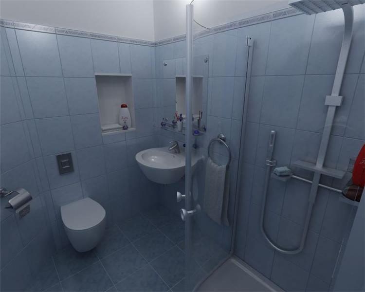 מקלחת ושירותים - bevel