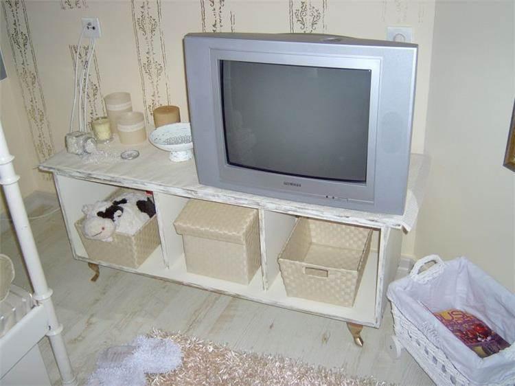 חדר ילדה בסגנון שאבי שיק