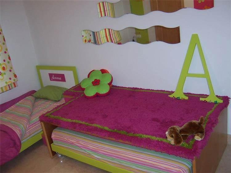 חדר לילדה - זליגר עיצובים