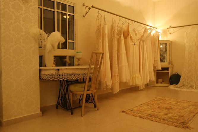 חנות שמלות כלה - אביבית בובליל- אדריכלות ועיצוב פנים