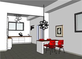פינת אוכל ומטבח - MB Design