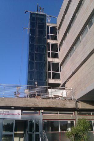 תוספת מעלית לבניין ישן - המכללה להנדסה ירושלים