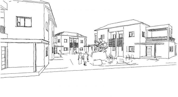 תכנון שכונה - תכנון מעגן מיכאל - אדריכלות ובינוי ערים