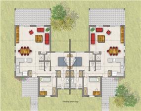 תוכנית בית - תכנון מעגן מיכאל - אדריכלות ובינוי ערים