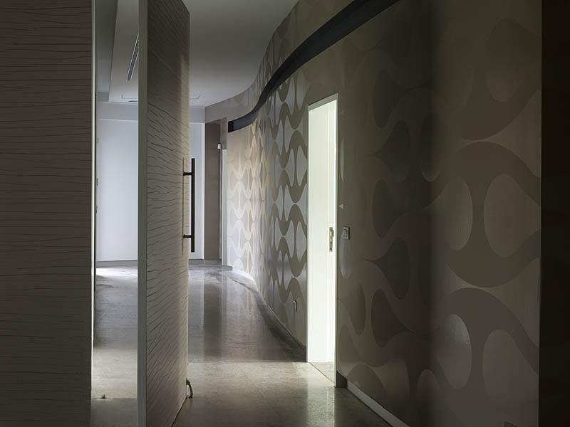 מסדרון,וילה, קיסריה - גלית אבינועם אדריכלות ועיצוב פנים
