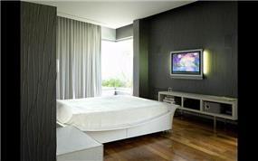 חדר שינה, וילה, קסריה - גלית אבינועם אדריכלות ועיצוב פנים