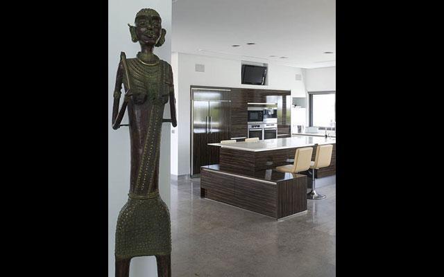 מטבח, וילה, קיסריה - גלית אבינועם אדריכלות ועיצוב פנים