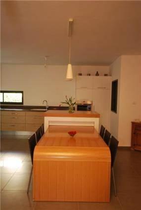 פינת אוכל ומטבח - pure interior