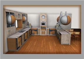 מטבח - Rכיטקטורה