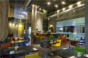 מסעדת 'כרמלה סופרנו', תל אביב - Urban Connection עיצוב פנים