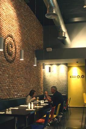 מסעדת ' כרמלה סופרנו', תל אביב - Urban Connection עיצוב פנים