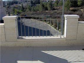 מעקה, בית פרטי, ירושלים - אדריכל יובל אבנד