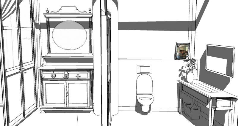 מבואה ושרותים בקפה - גלעדי דובר אדריכלות וניהול פרויקטים