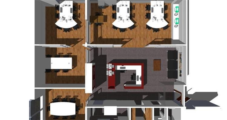 תוכנית משרד - גלעדי דובר אדריכלות וניהול פרויקטים