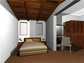 חדר שינה - גלעדי דובר אדריכלות וניהול פרויקטים