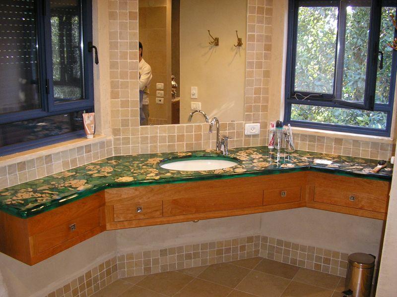 חדר אמבטיה - דורית ליבנה עיצוב ואדריכלות פנים
